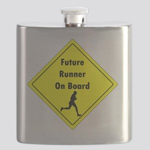 Future Runner On Board Maternity T-Shirt Flask